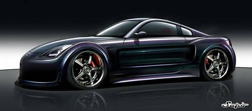 Nissan 350z by Saporita