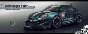 Volkswagen Beetle Time Attack by Saporita
