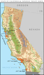 State of California and Treaty Ports - 1949 by Charles471