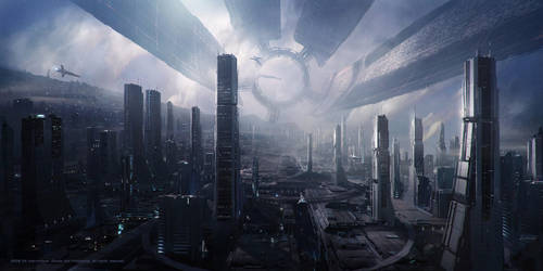 Space city by 12doctors