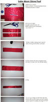 How to - sailor moon glove bands by THISxISxMYxNAME