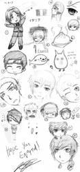 SketchDump1 by iTsukuyomi