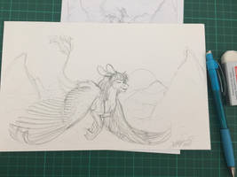 WIP AT by Drago-Draws