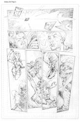 Galaxy Girl Pencils Page 5 by ValdeciRodrigues