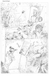Galaxy Girl Pencils page 6 by ValdeciRodrigues