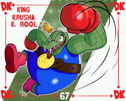 Smash Ultimate #67: King Krusha K Rool by Andy-roo78