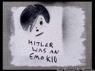 Hitler Was An Emo Kid by mosesy2k24