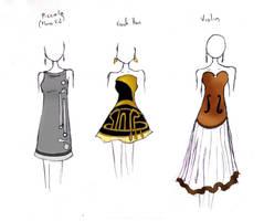 Band Geek Prom Dresses 3 by theghostlyartist