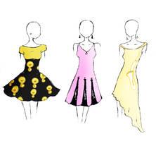 Band Geek Prom Dresses 5 by theghostlyartist