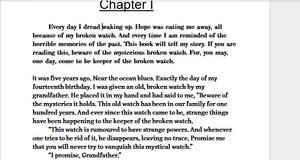 Beware of the Broken Watch Preview by iamanimegirl12