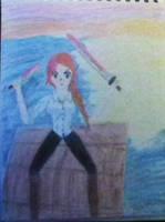 Murderous Pirate Girl by iamanimegirl12