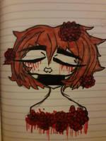 Rose bleed by RiverTheEmoCatIsHere