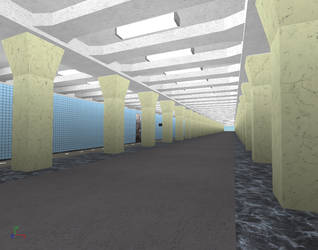 Building Varshavskaya station on ROBLOX (6) by Moscow1234