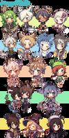 commissions III by shiinorin