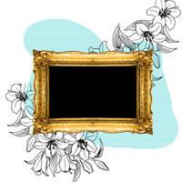 textura_frame_flowers by crepusculitarokera1