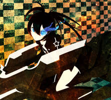 Black Rock Shooter - The Game by RoundCottonCandy
