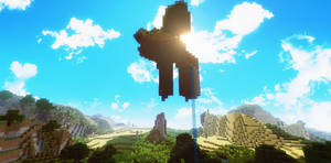 Beautiful day in Minecraft II by TheEvOlLuTiOnS