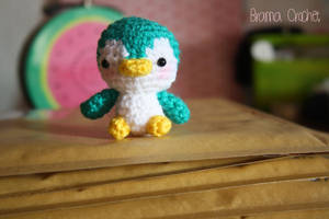 Little Penguin - Kawaii Amigurumi plush by BramaCrochet