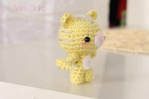 Kitten amigurumi doll by BramaCrochet