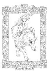 The Rider by ToLiveAndDieInLA