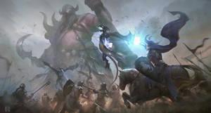 Battle Final by achillesliu