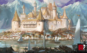 Castle by achillesliu