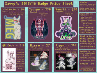Badge Commissions are Open by Savvy-Cat