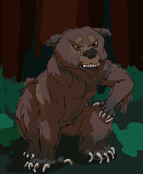 That Other Werebear by Savvy-Cat