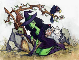 Wicked Witch of the West by CorinneRoberts