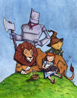 Wizard of Oz by CorinneRoberts