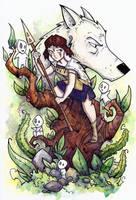 Princess Mononoke by CorinneRoberts