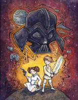Star Wars - A New Hope by CorinneRoberts