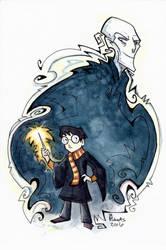 Harry v Voldemort by CorinneRoberts