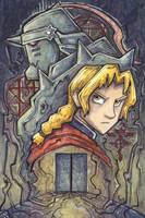 Fullmetal Alchemist Brotherhood by CorinneRoberts