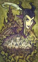 Maleficent by CorinneRoberts