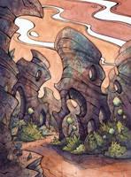 Trip to Trekka (page) by CorinneRoberts