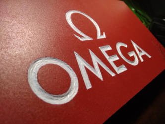 omega wood logo by Neves7seven