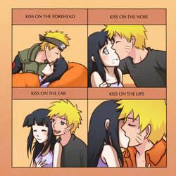 NaruHina - Kiss Meme by cherlye