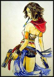 Gunner Yuna by swtnov8