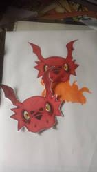Guilmon Digimon Tamers by SoraKamijo