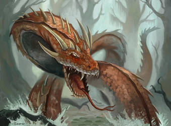 L5R - Spawn of Vritra by DrStein