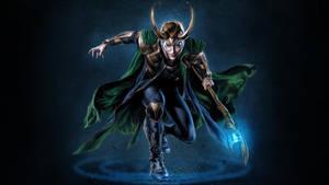 Loki Laufeyson WP by SweetAmberkins
