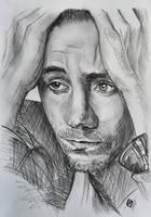 Tom Hiddleston by SergeySavchenko
