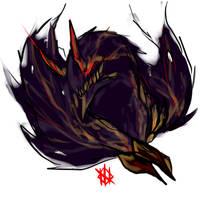 Gore Magala Sketch by Hydekazma