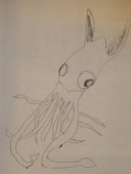 Squid bunny! by Eimarra