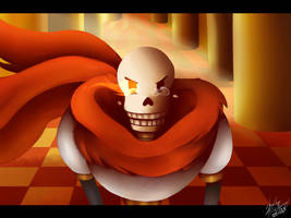 Judgement hall with Papyrus by Jaiike