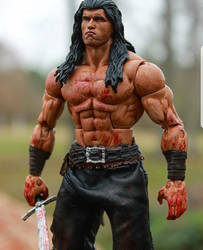 Conan the Barbarian figure by PlasticSurgen