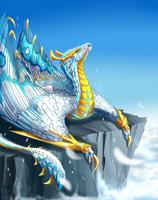 white werewyvern by MarAlmok