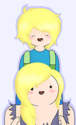 Finn and Susana by AndiScissorhands