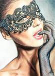 Masked seduction by AndresBellorin-ART
